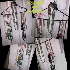 Necklaces and bracelets variety